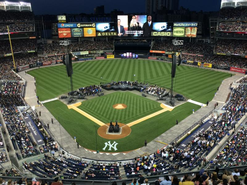 Proction Supervisor for Joel Osteen at Yankee Stadium